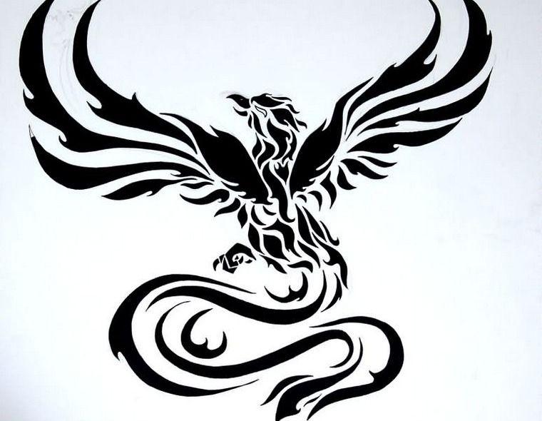 Tatouage Phoenix Significations Et Idees En Images Phoenix
