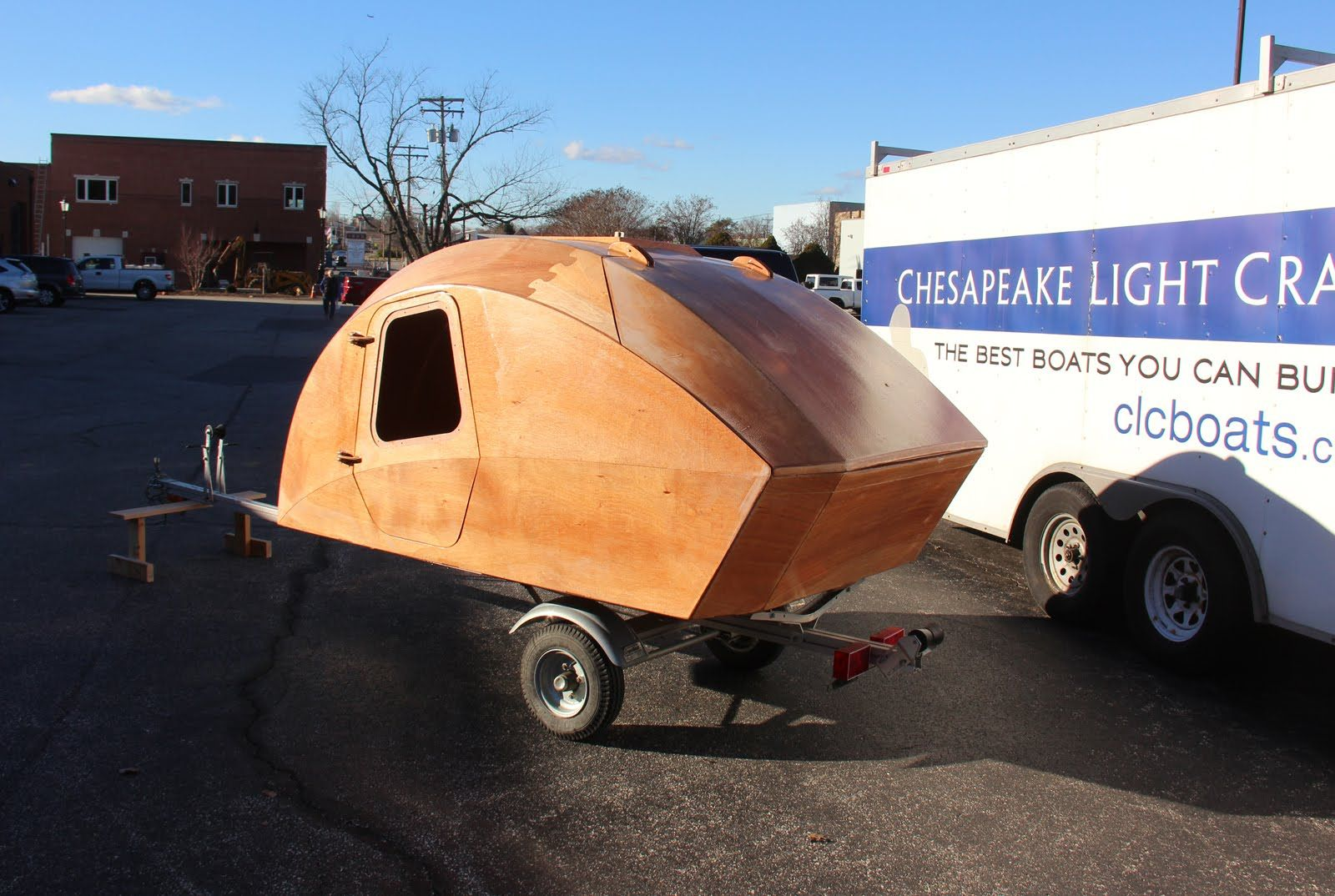 Chesapeake Light Craft Teardrop Trailer Kit Sneak Preview