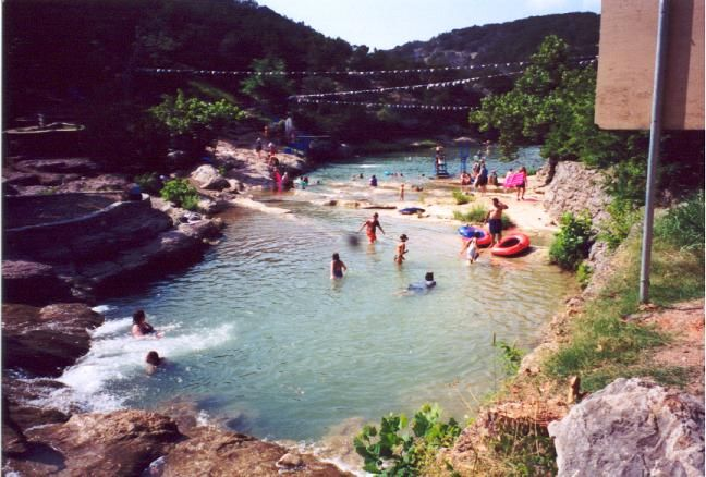 Gentil Turner Falls In The Arbuckle Mountains Of Oklahoma