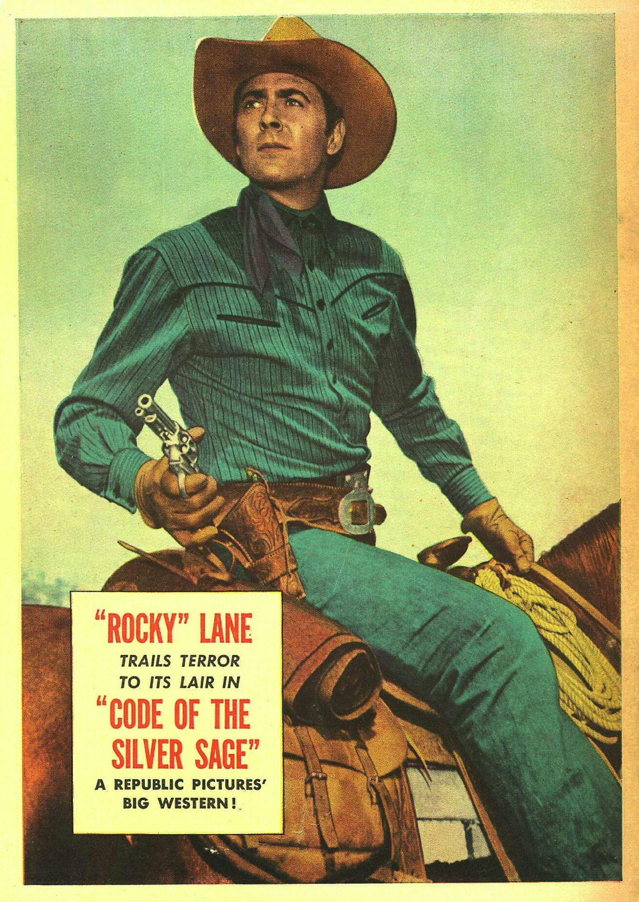 Allan Rocky Lane Allen Rocky Lane Western Movies