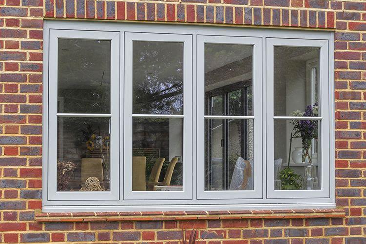 Solarlux SL Bi Folding Doors, Halo Flush UPVC Windows And Apeer Composite  Front Door, West End, Surrey   Thames Valley Windows
