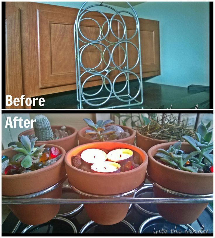 Upcycled Wine Rack Planter Wine Rack Uses Wine Rack Metal Wine