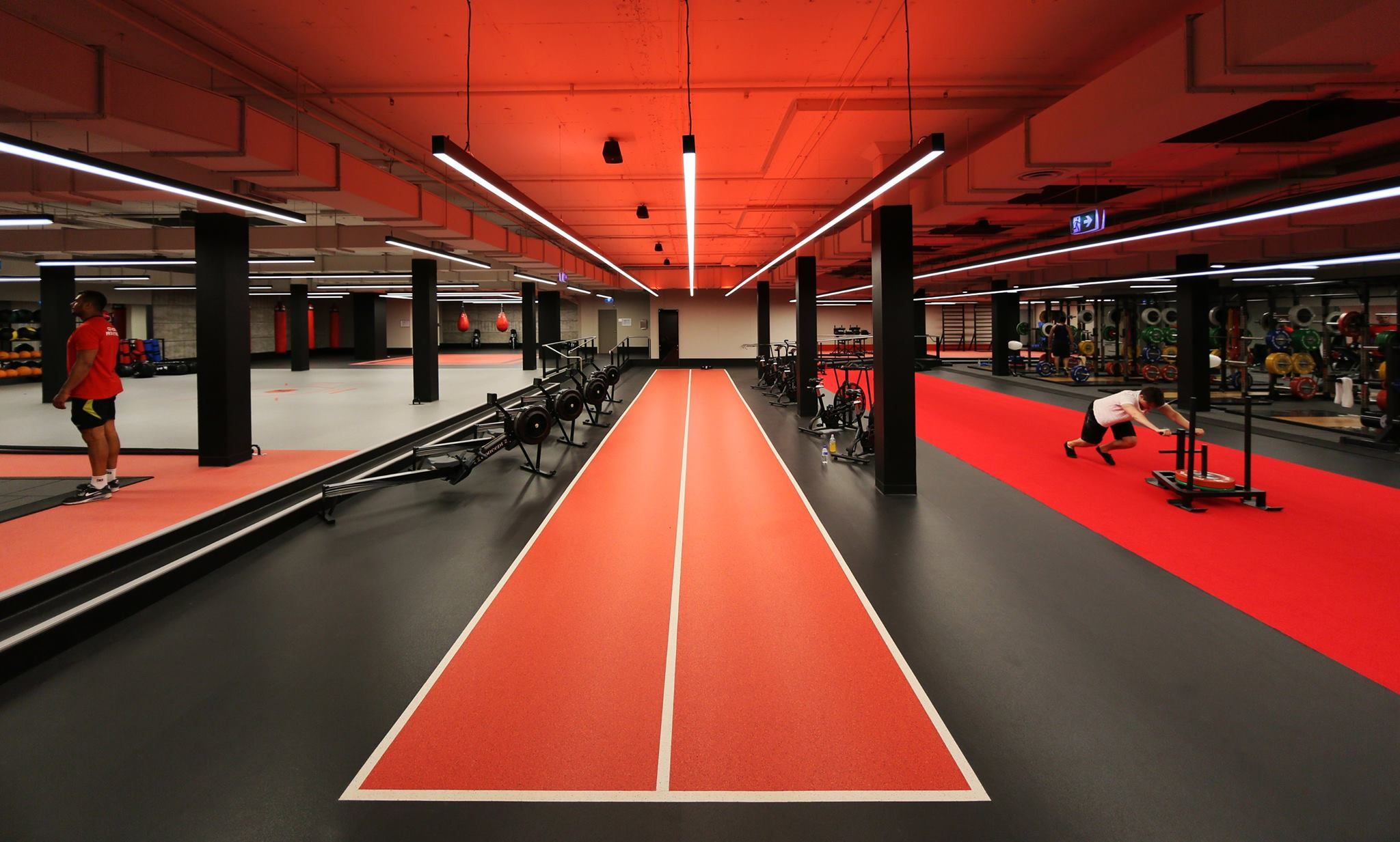 Decoflex sprint track fitness first bond st platinum