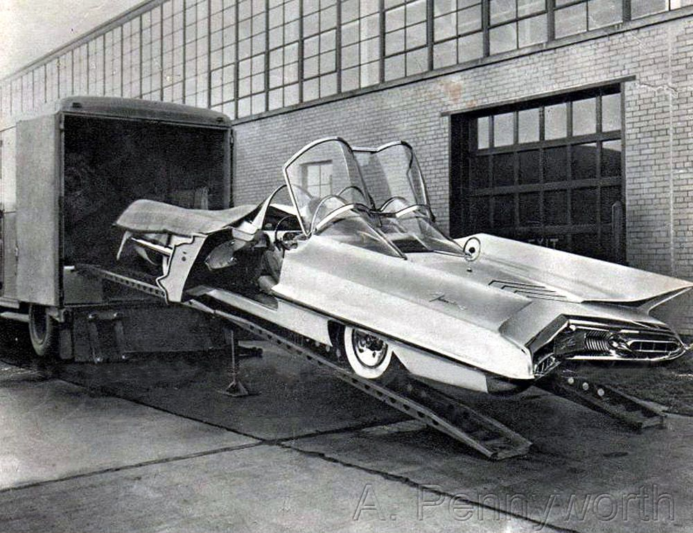 Lincoln Futura. The concept car made by GHIA which has been ...