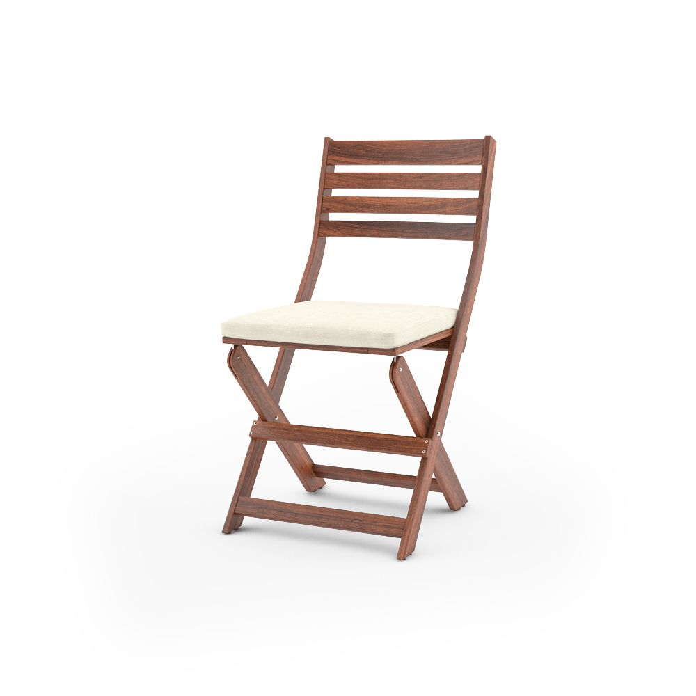 ikea applaro folding chair unfolded with cushion free 3d model of ikea applaro outdoor furnitures series