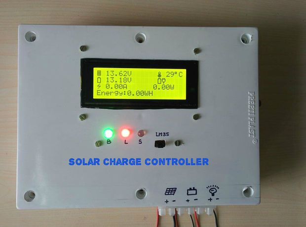 With Solar Charger Micro Controller Based Inverter With Solar Charger