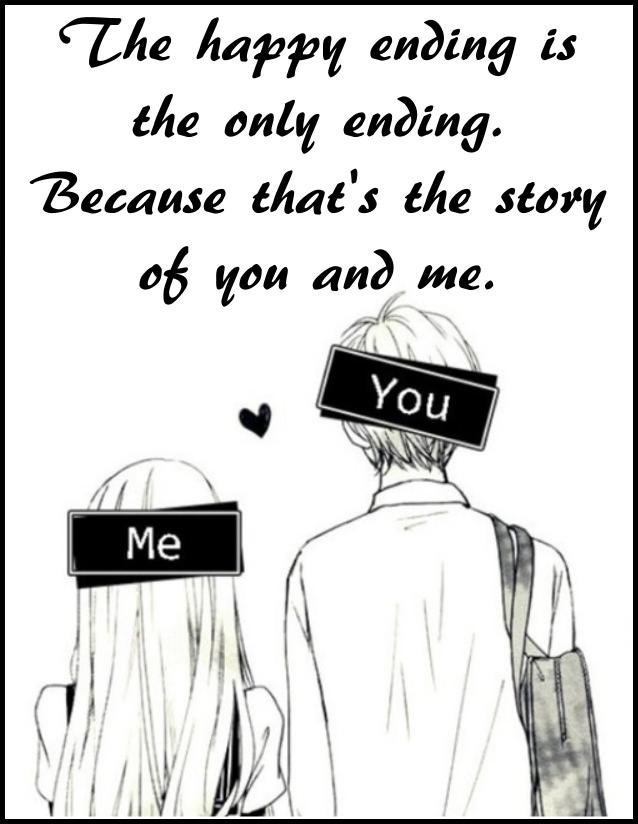 Anime Manga Love Girl Boy Quotes Quotes Manga Love Girls In Love Happy Endings