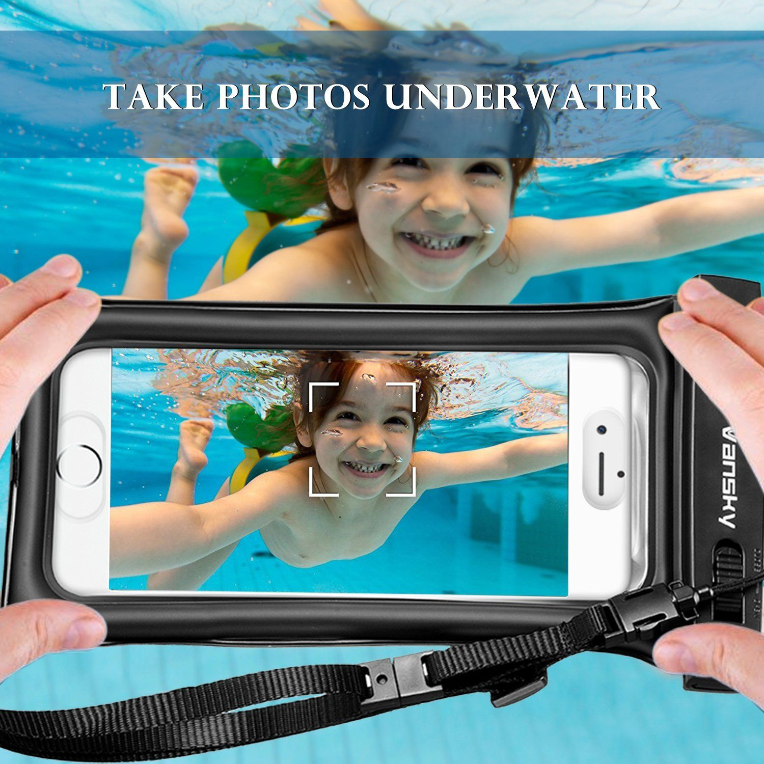 timeless design 8888e bb88e Take your iPhone in the Water. Vansky Floatable Waterproof Phone ...
