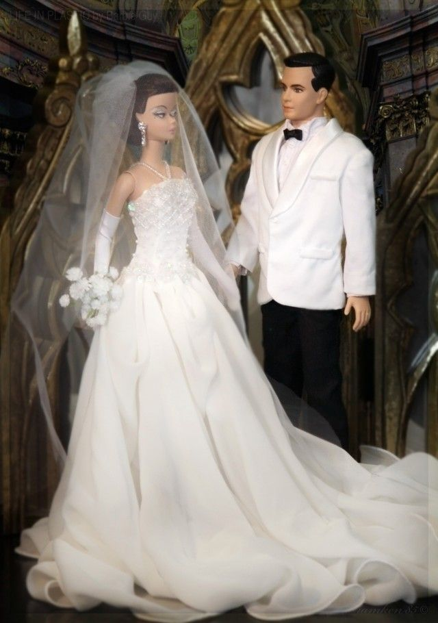 Vintage Barbie and Ken, wedding @Chris Cote Cote Cote Cote Gaynor ...