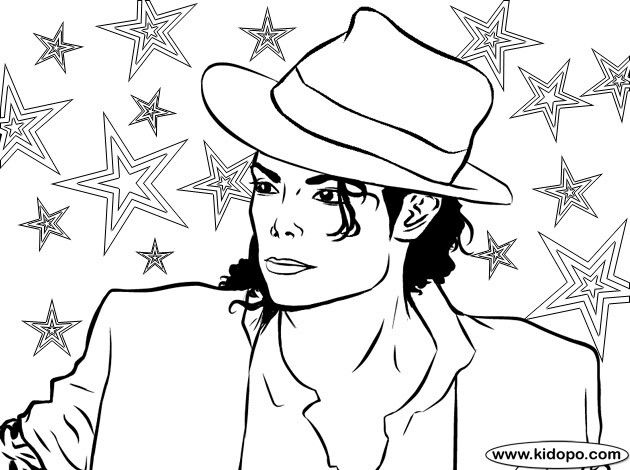 Michael Jackson Malvorlagen