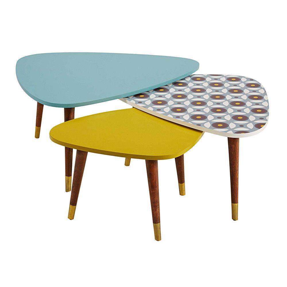 Tables Et Bureaux Avec Images Mobilier De Salon Table Basse Salon Tables Gigognes