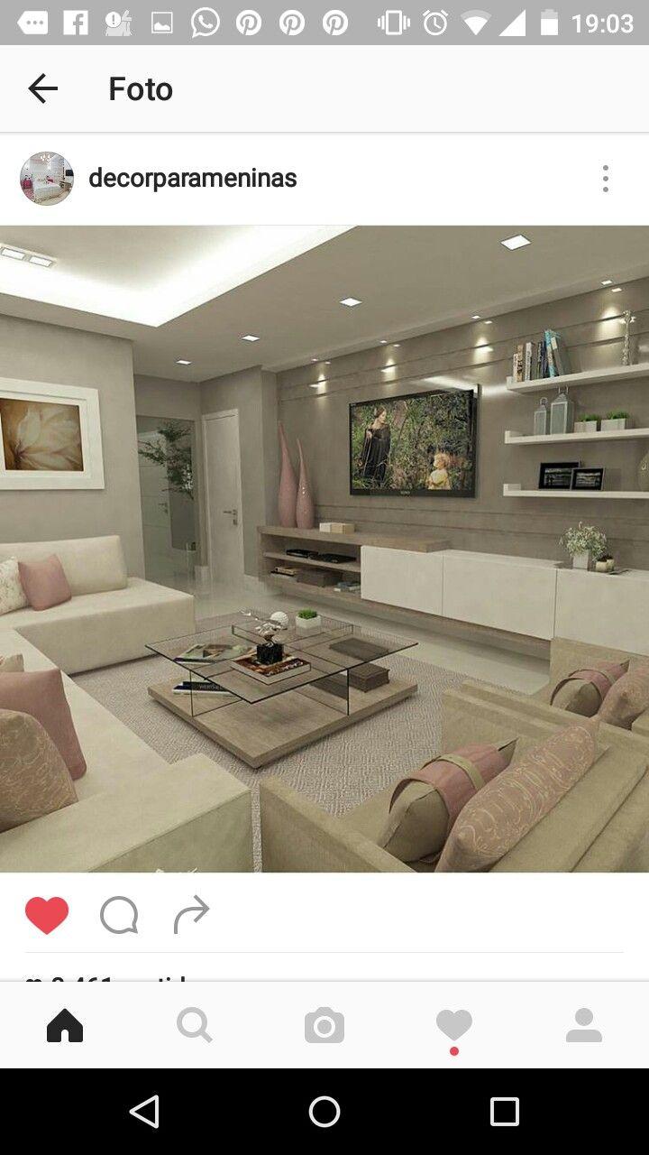 Pingl Par Bianka Amorim Sur Casa Pinterest Couleurs Id E Et  # Meuble Tv Marocain