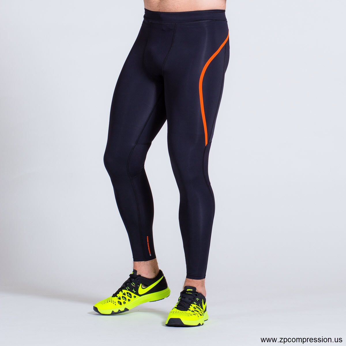 f76b788fe98ccb ZeroPoint's compression tights for circulation are woven with a powerful,  targeted weave that allows more compression in the calves and less  compression in ...