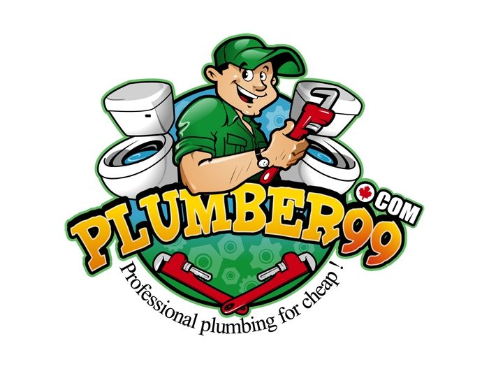 Our Plumbers Logo Designs Are Often Character Or Cartoon