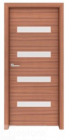 Use this door to create some privacy and sound proofing from one room into the next   #mahogany #door #home