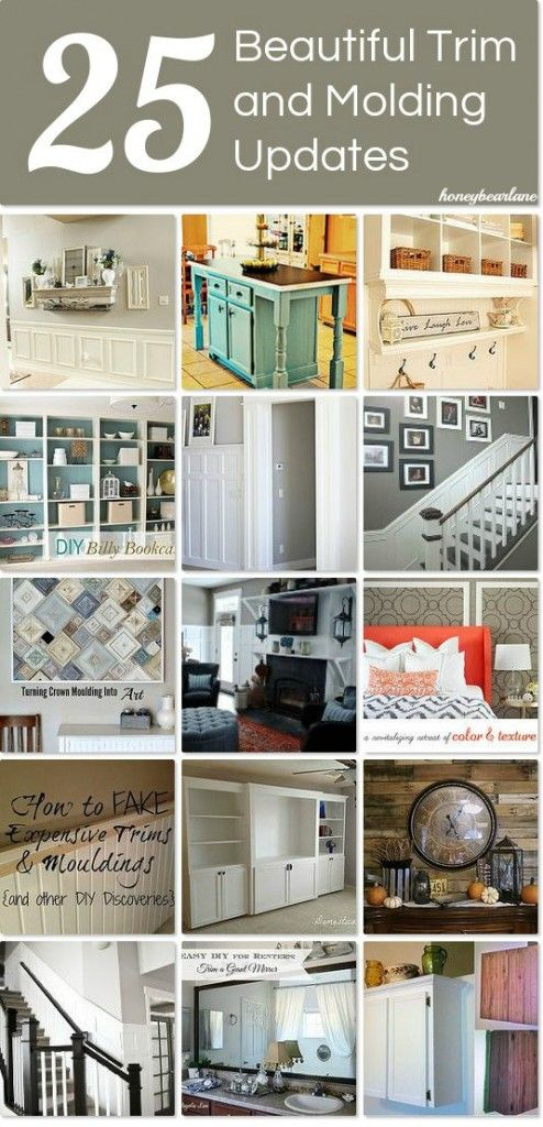25 Trim And Molding Ideas