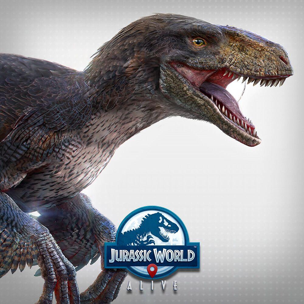 Jurassic World Utahraptor / Miragaia / Concavenator, joé