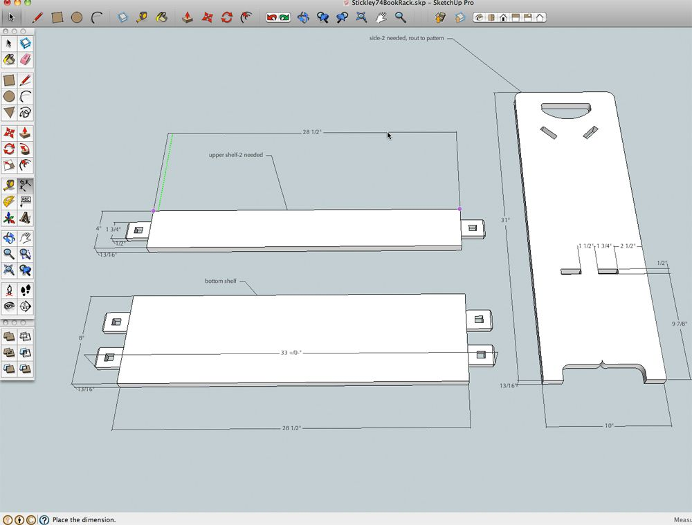 Sketchup Advantage 3d Cutlists For Woodworking Projects