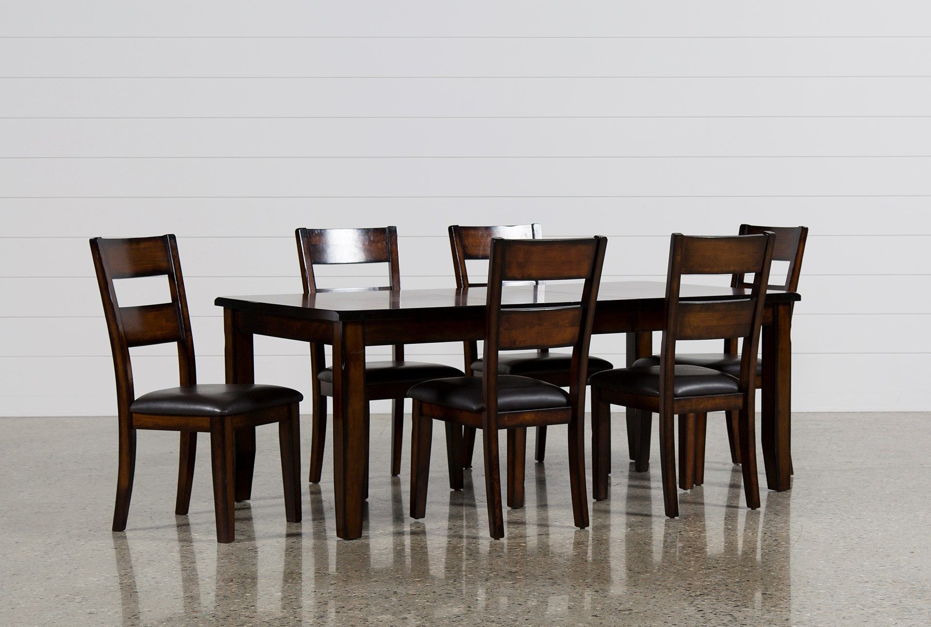 Shop For Rocco 7 Piece Extension Dining Set At Livingspaces Com