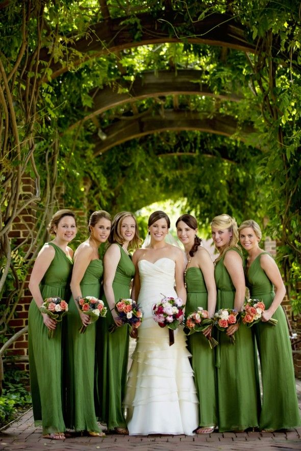 a90fb8e68f Pink and Green Wedding in Williamsburg by David Schwartz Photography ...