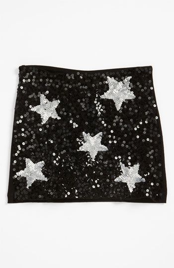 Flowers by Zoe Sequin Skirt (Big Girls) available at #Nordstrom