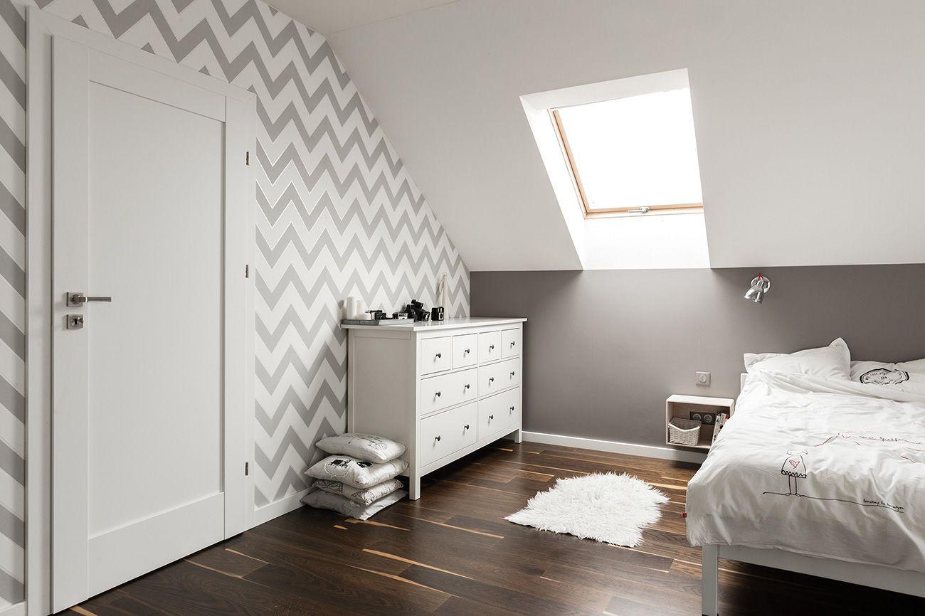 Zolder Slaapkamer Inspiratie : Moderne slaapkamer inspiratie voor kamers op zolder. slaapkamer