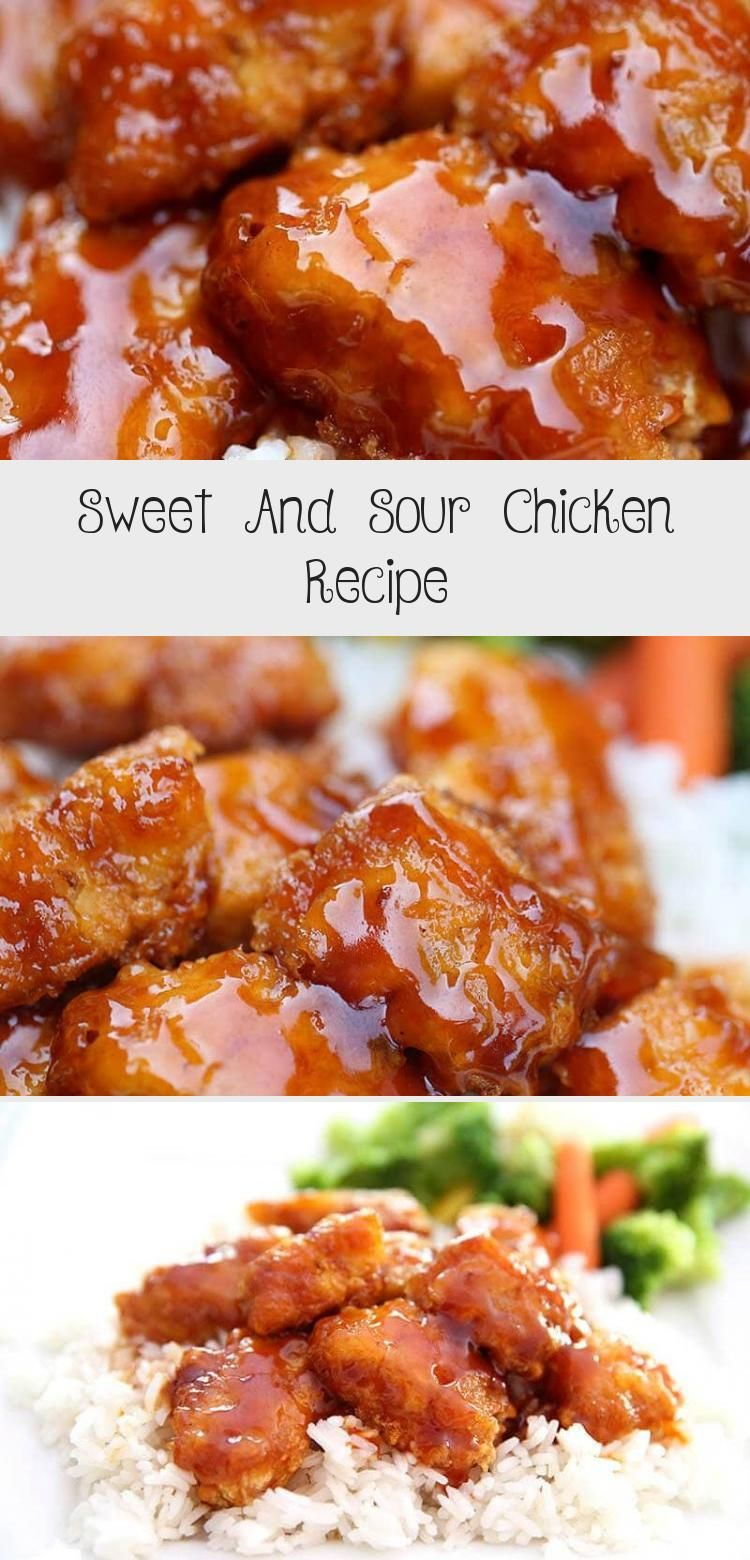 Photo of Sweet And Sour Chicken Recipe – Recipes Ideas