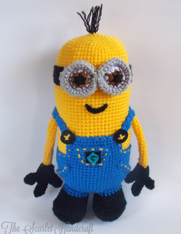Minion Amigurumi. Crochet Minion. Made To Order. by ...