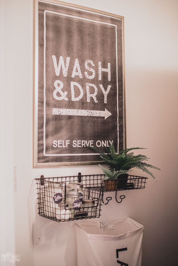 Vintage Industrial Laundry Room Sign images