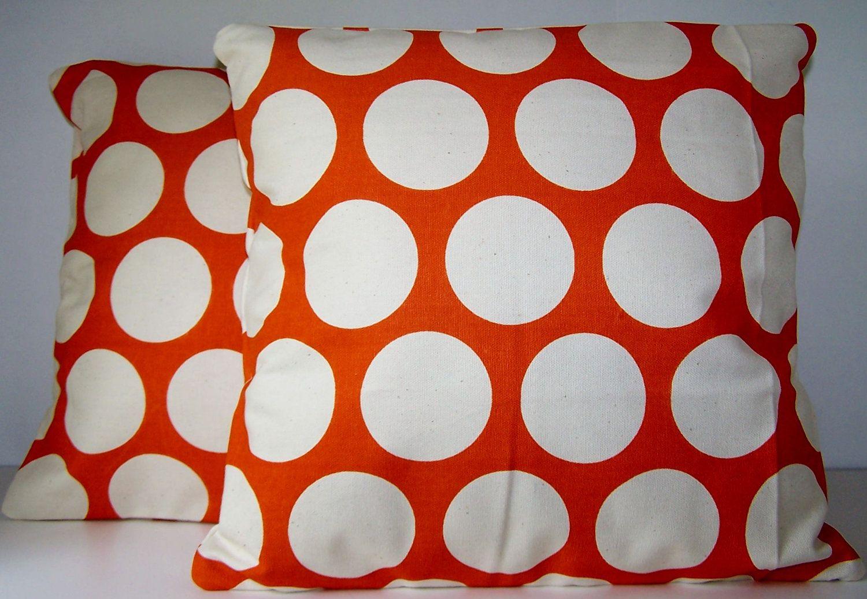 Pillow cover throw pillow handmade custom modern euro shams two