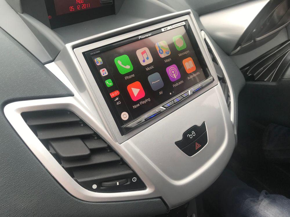 Pioneer Sph Da230dab Installed In Ford Fiesta 2009