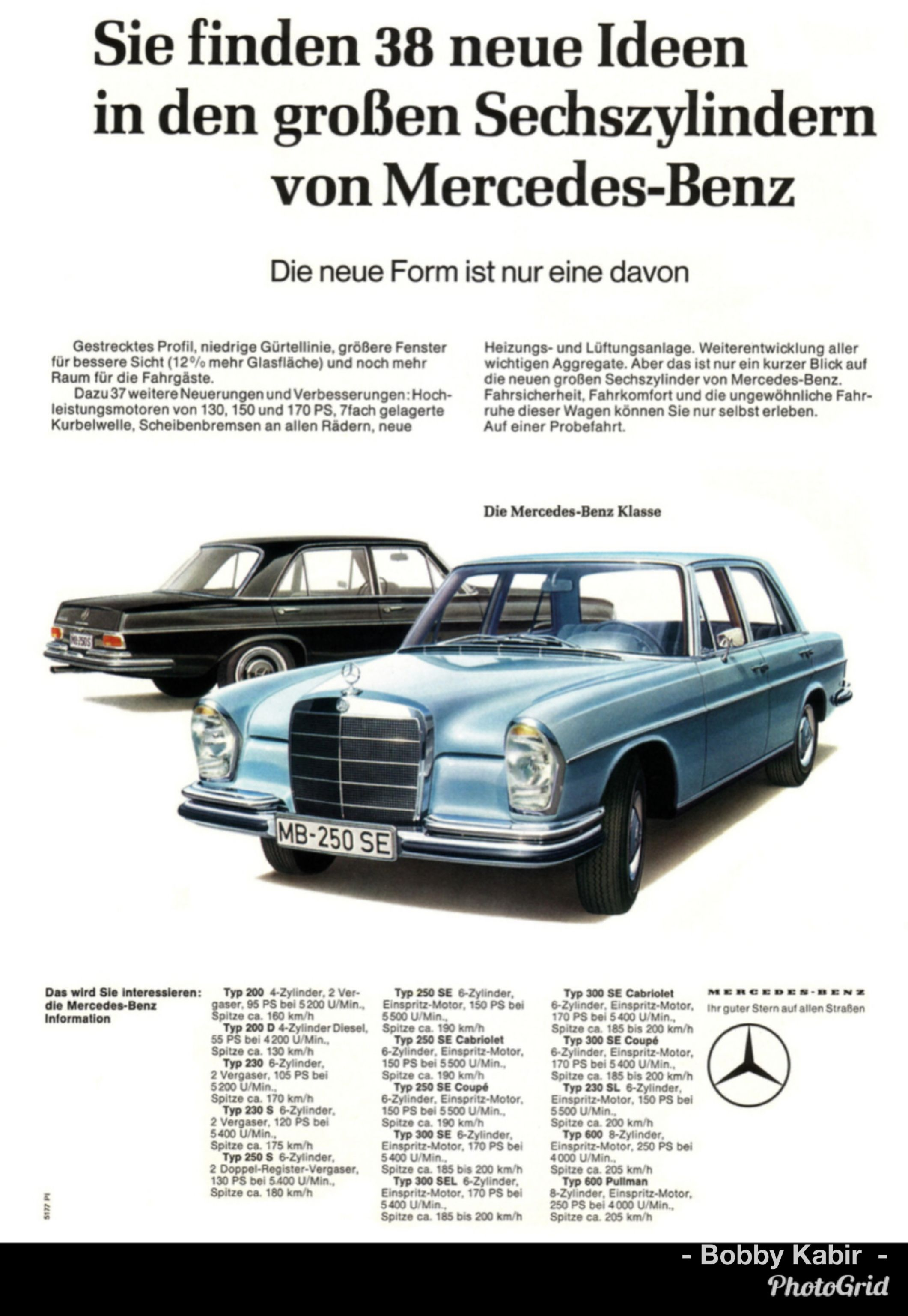 1965 Mercedes-Benz 250 SE (W108) in German by H2074 on Flickr | Car ...