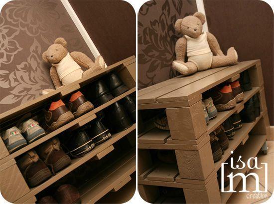 Range souliers en bois de palette Ma liste du0027envies Pinterest