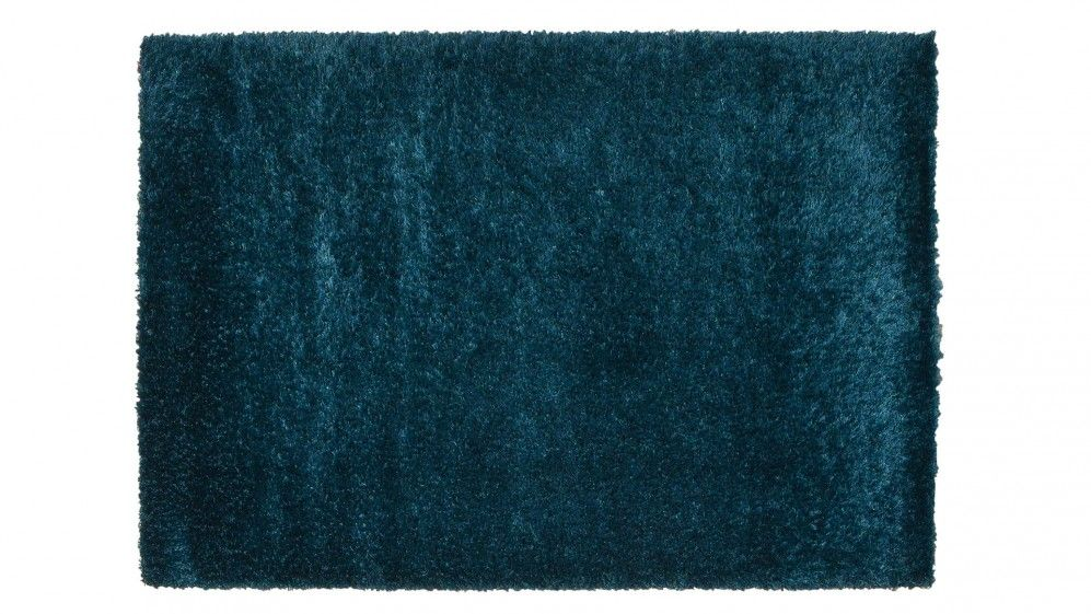 tapis contemporain tapis shaggy bleu opaline saint. Black Bedroom Furniture Sets. Home Design Ideas