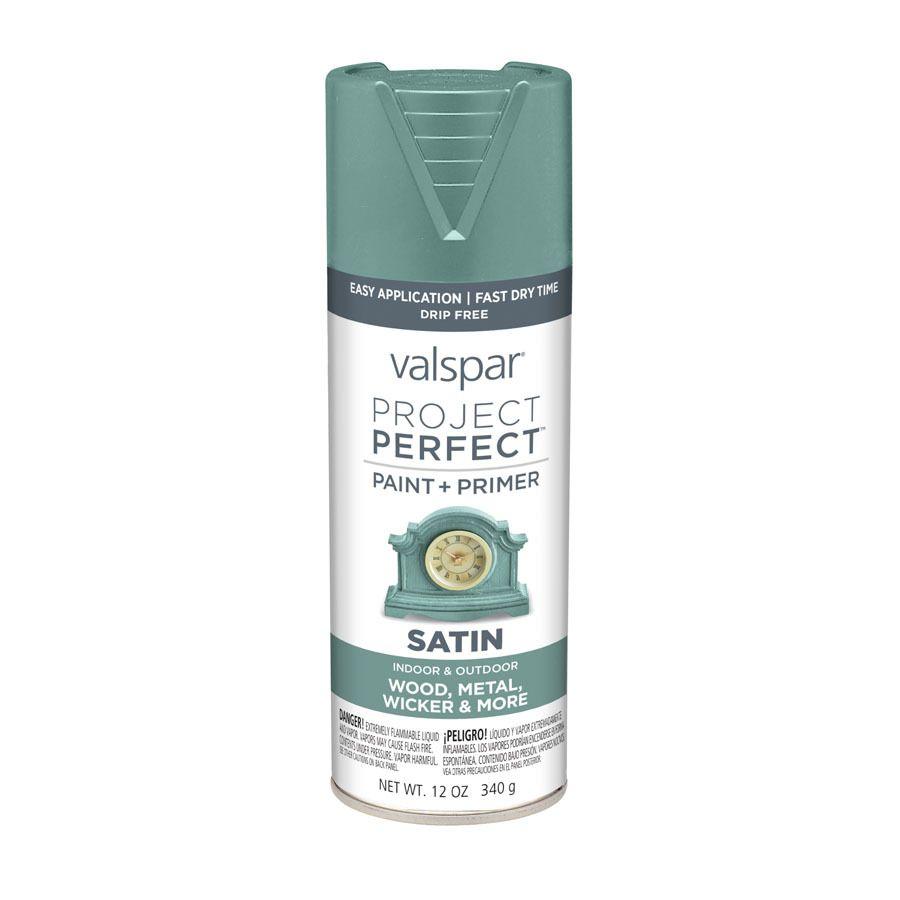Valspar Turquoise Spray Paint Valspar Project Perfect Secluded Garden Fade Resistant Enamel