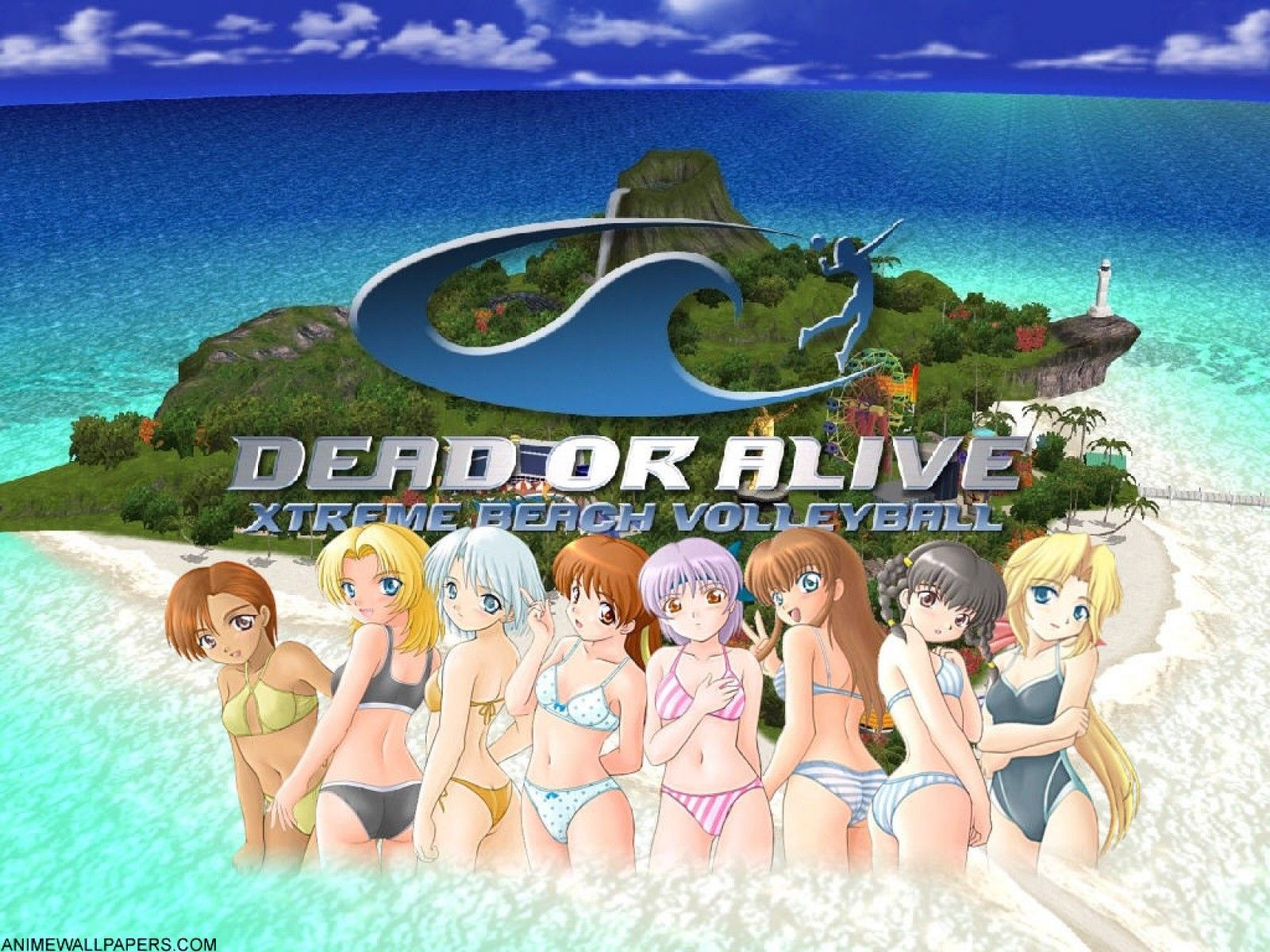 Dead Or Alive Xtreme With Images Volleyball Wallpaper Anime Wallpaper Wallpaper Com