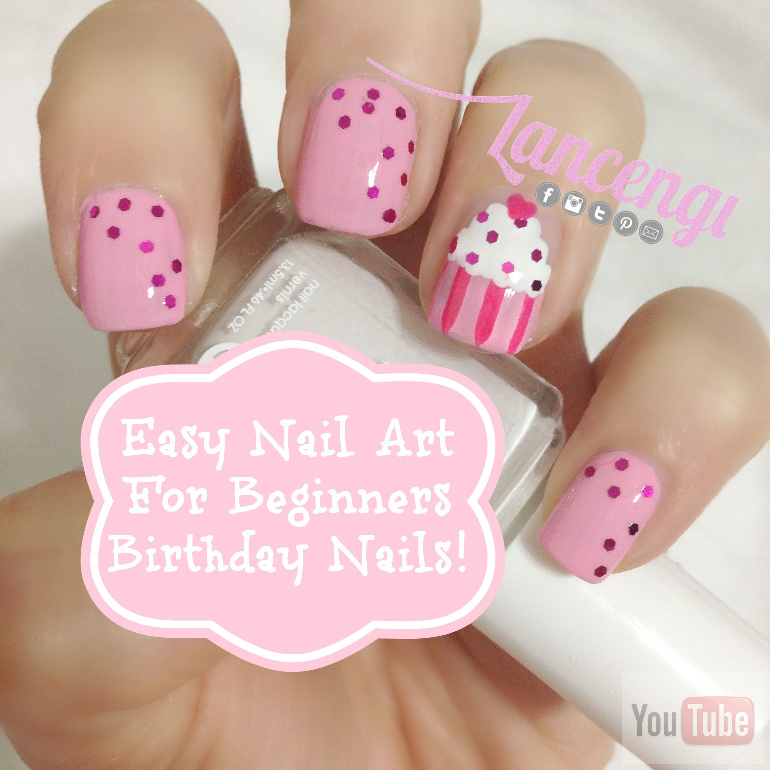 Have All The Cake You Want Its Your Birthday Birthday Cake Nail