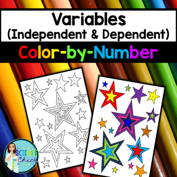 Variables Color By Number Independent Dependent Math