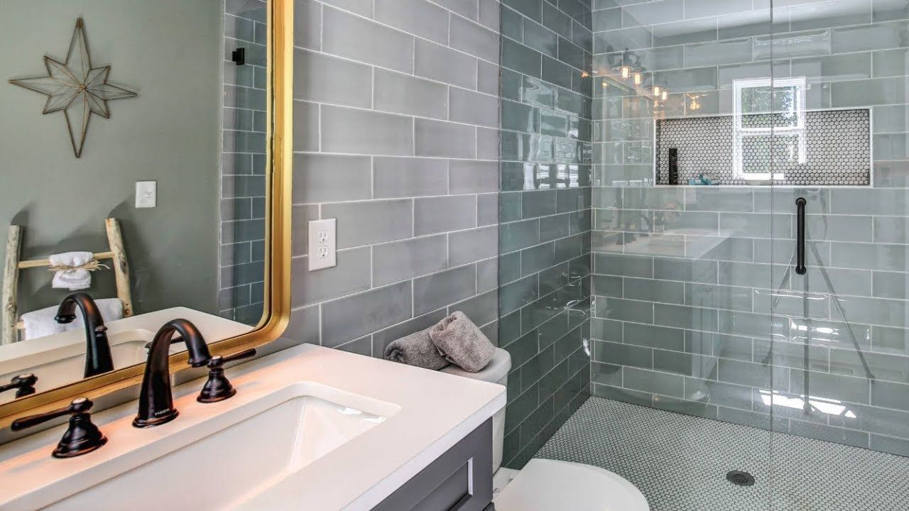 30 Bathroom Tile Ideas in 2020 Tile bathroom, Bathroom