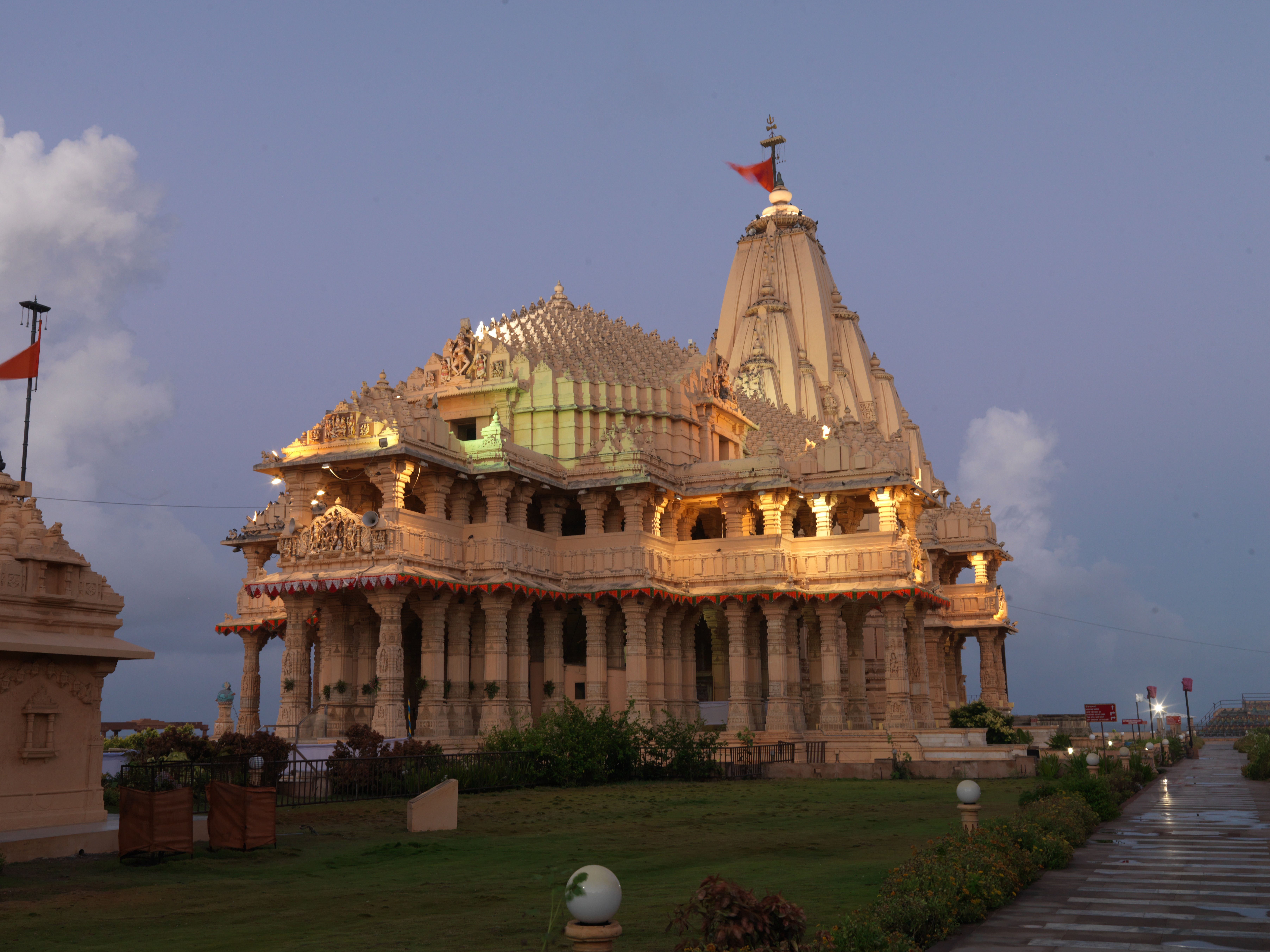 Somnath is an important pilgrimage and tourist spot