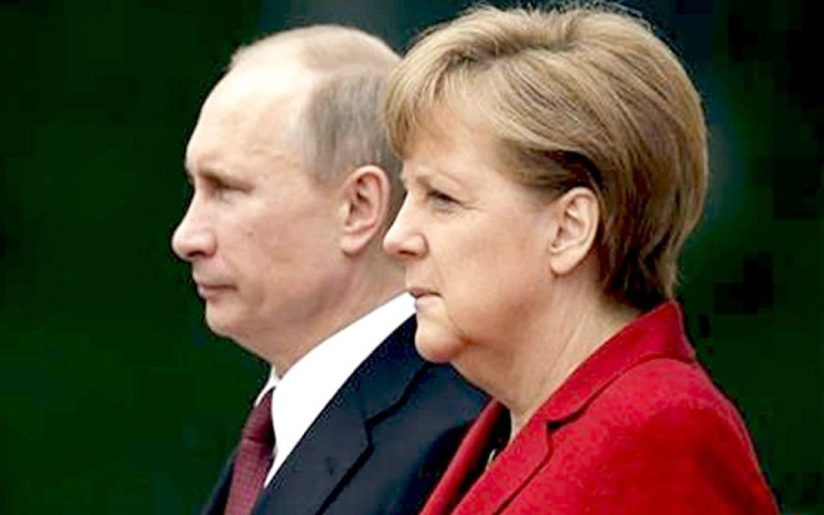 Russia, Germany urge all parties to focus on peace process in #Ukraine, stick on #Minsk agreement @XHNews