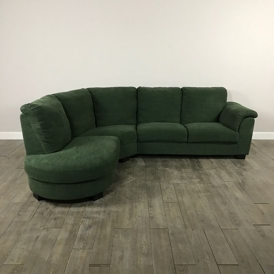 Awesome Forest Green Sectional Sofa By Ikea   Chicago, IL Https://www.