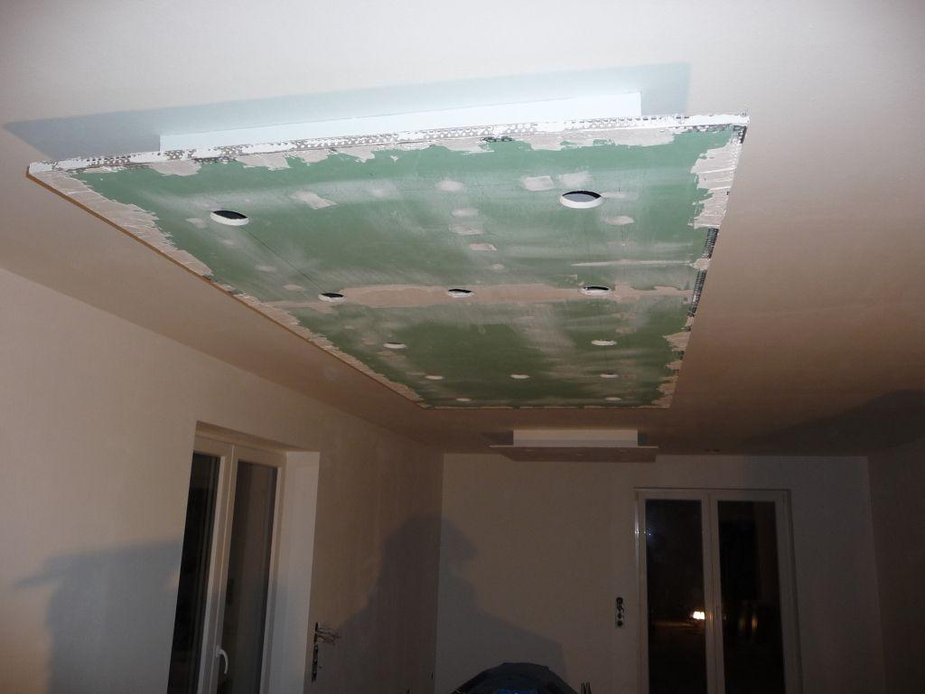 Lampe Badezimmer Decke Haus Mobel Indirektes Licht Trockenbau