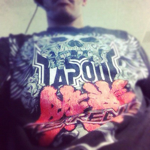 Armor King S Tapout Shirt From Tekken 6 Mma Band Tshirts