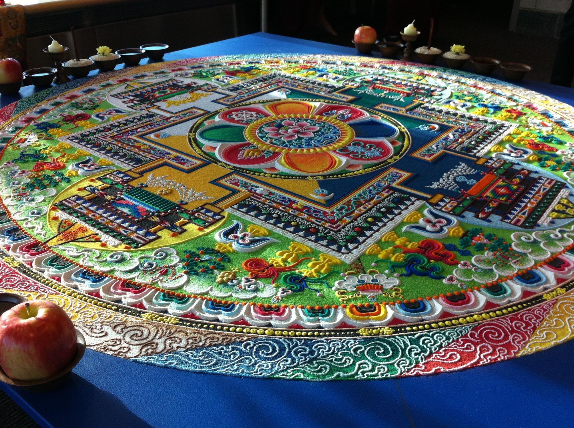 Allan Hancock College - Tibetan Monks to Create Sand Mandala at ...