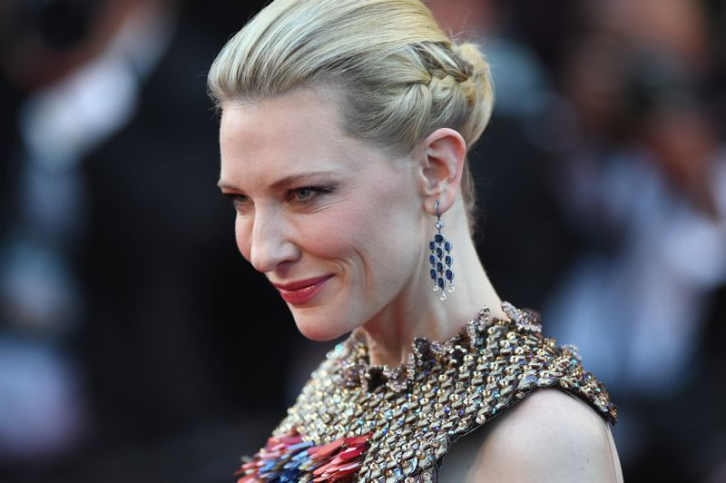 "Cate Blanchett na première de  ""How To Train Your Dragon 2\"""