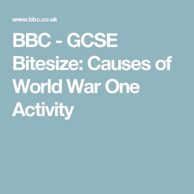 Bbc gcse bitesize causes of world war one activity world war 1 gcse bitesize causes of world war one activity urtaz Images