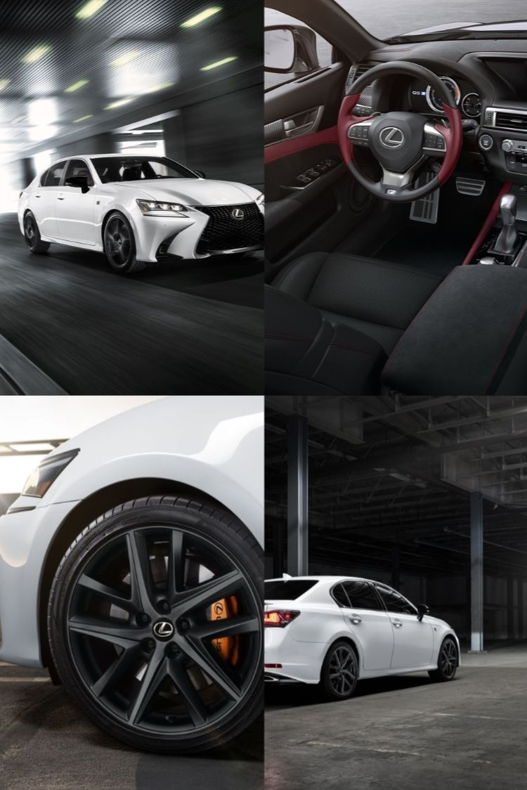 2020 Lexus Gs 350 F Sport Black Line Special Edition In 2020 Lexus Black Model