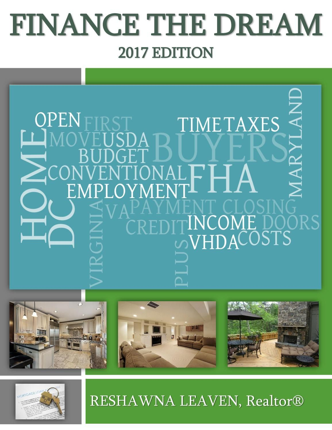 Finance The Dream 2017 Edition Finance, First time