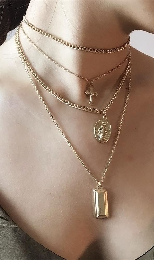 Jewels By Lux 14K Yellow Gold Rope Design Teardrop Pendant